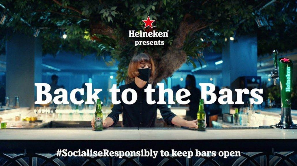 Social Responsibility Heineken - Back to the Bars