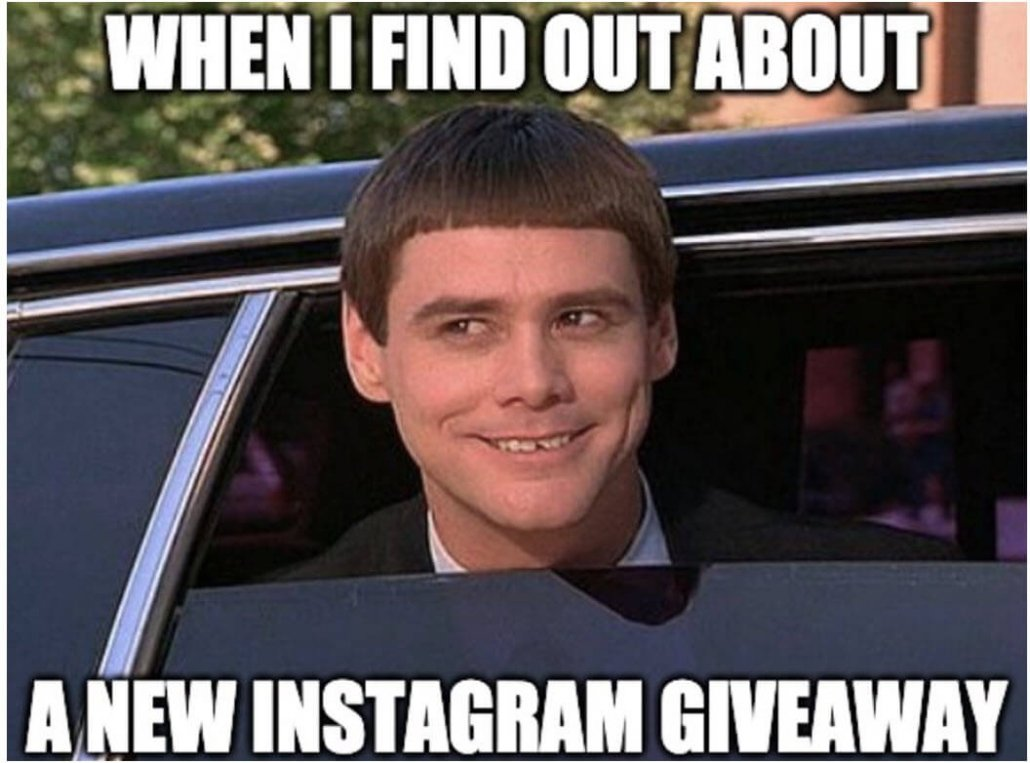 Instagram brand-partnership giveaways are on trend